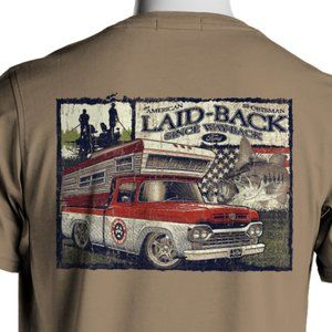 Comfort Colors 60 Ford Truck Bass Fishing T-Shirt